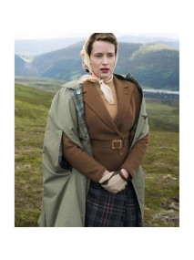 The Crown Claire Foy Brown Jacket