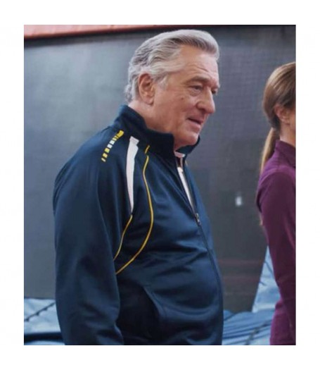 The War With Grandpa Robert De Niro Blue Jacket