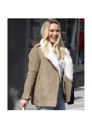 Younger Hilary Duff Cotton Jacket
