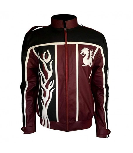 Daniel Bryan Red and Black Leather Jacket
