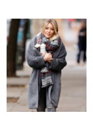 Younger Season 2 Kelsey Peters Grey Fur Coat