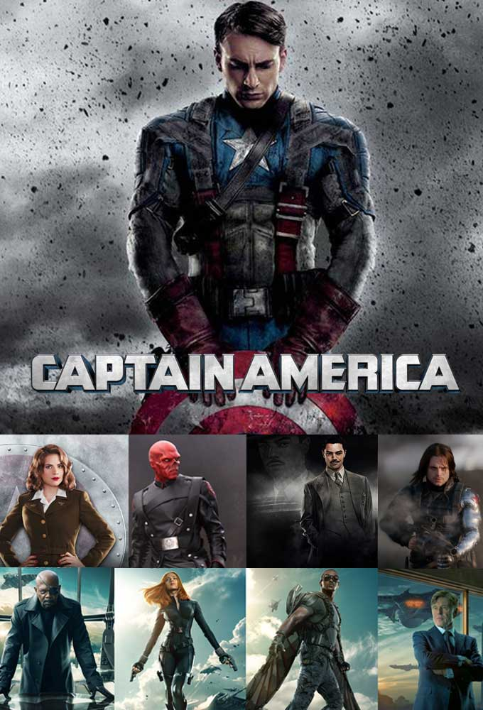 Captain America Movie Costumes and Jackets