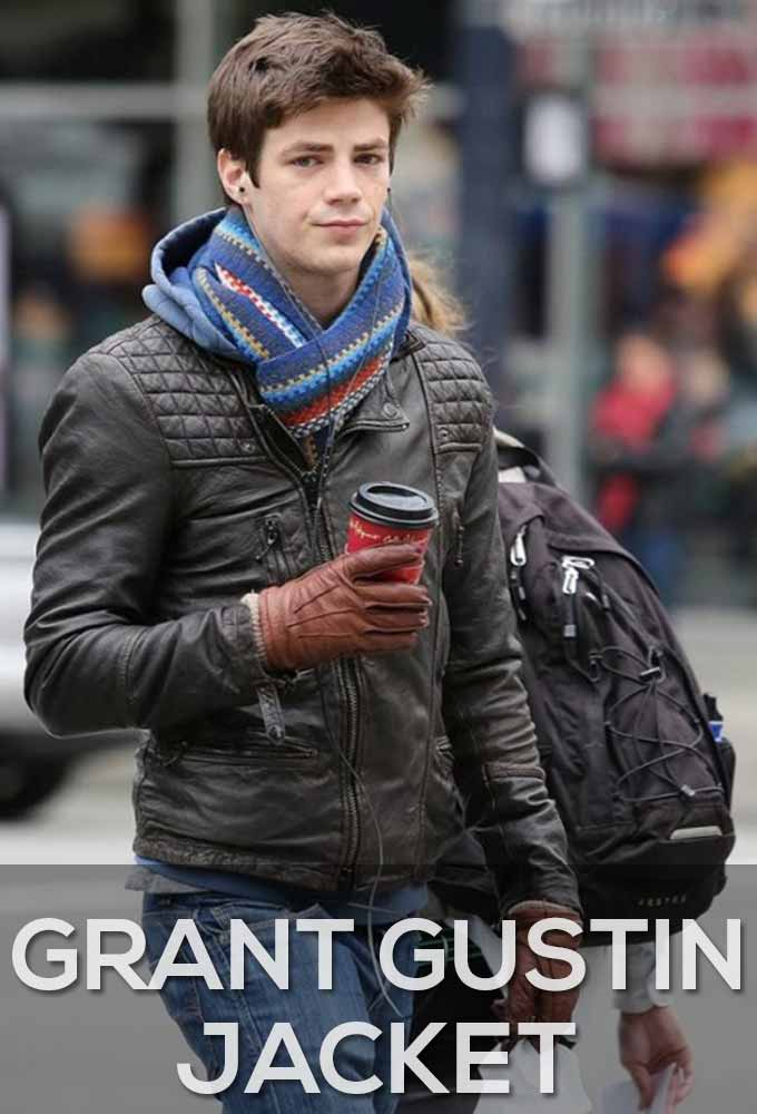 Grant Gustin Jackets