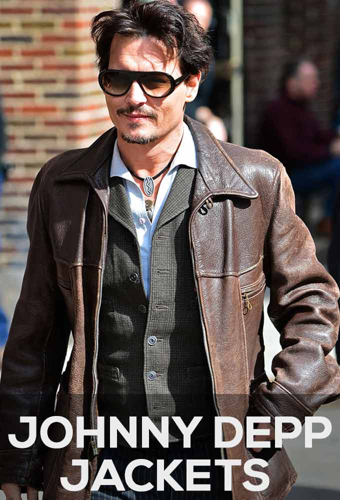 Johnny Depp Jackets