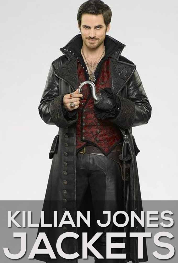 Killian Jones Jackets