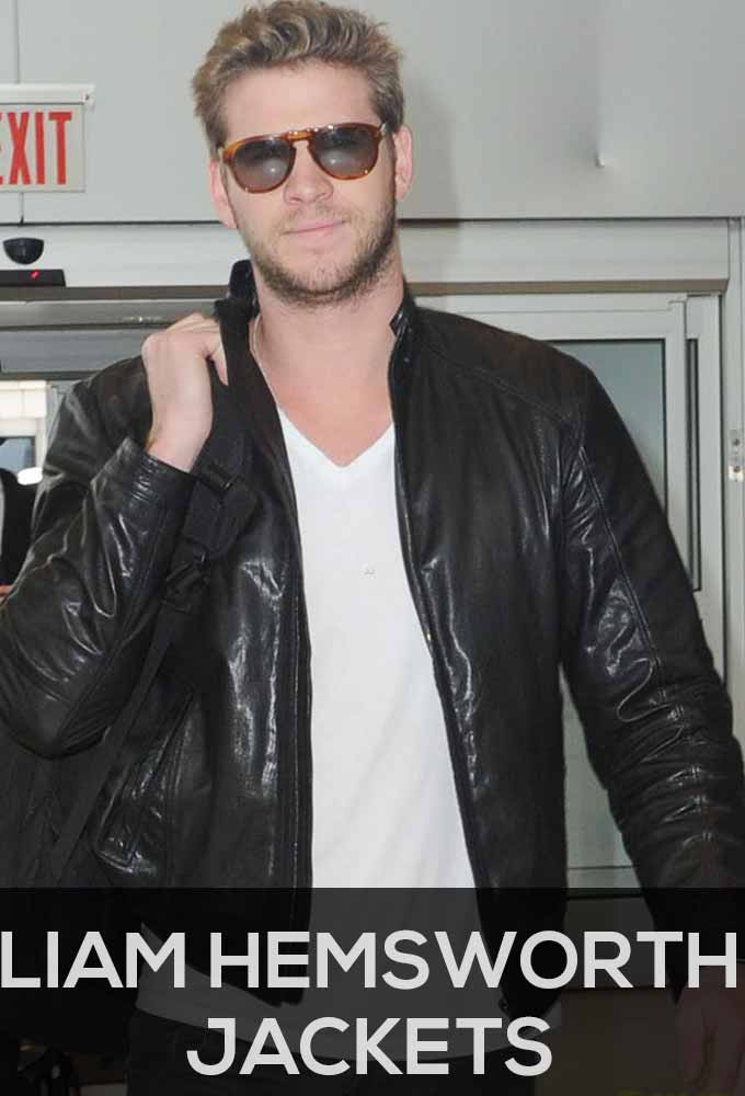 Liam Hemsworth Jackets