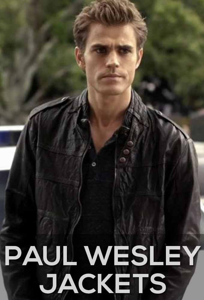 Paul Wesley Jacket