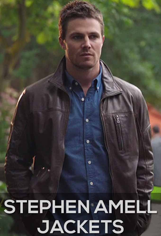 Stephen Amell Jackets