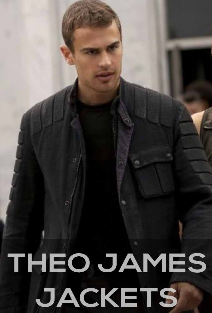 Theo James Jackets