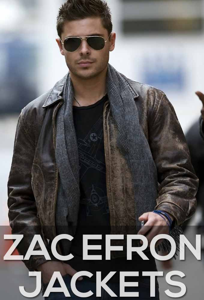 Zac Efron Jackets