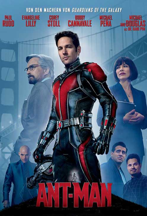 Ant Man Movie Costumes and Jackets