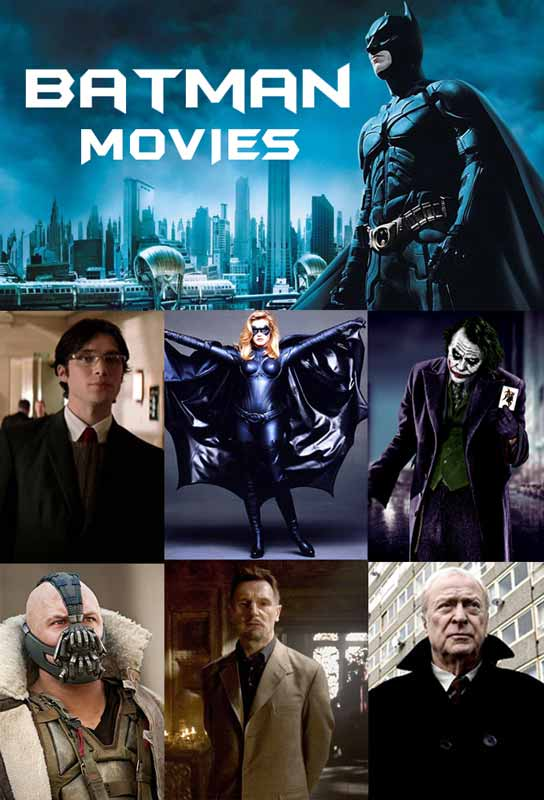Batman Movie Costumes and Jackets
