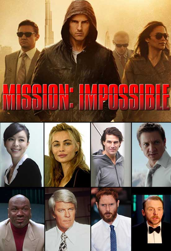 Mission Impossible Jackets