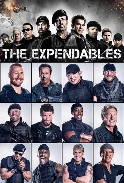 The Expendables Jackets and Vests